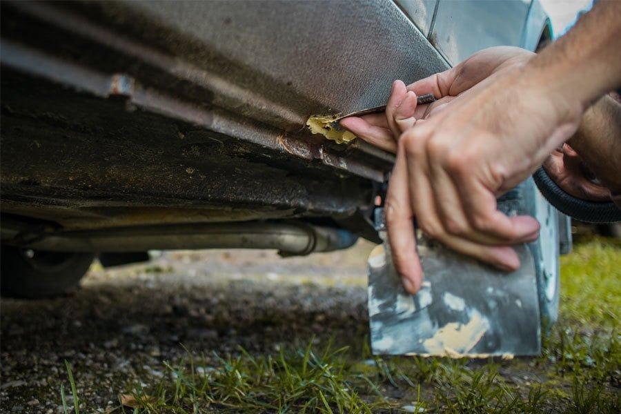 best auto filler for rust